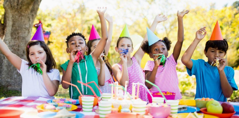 kids having fun at a birthday party
